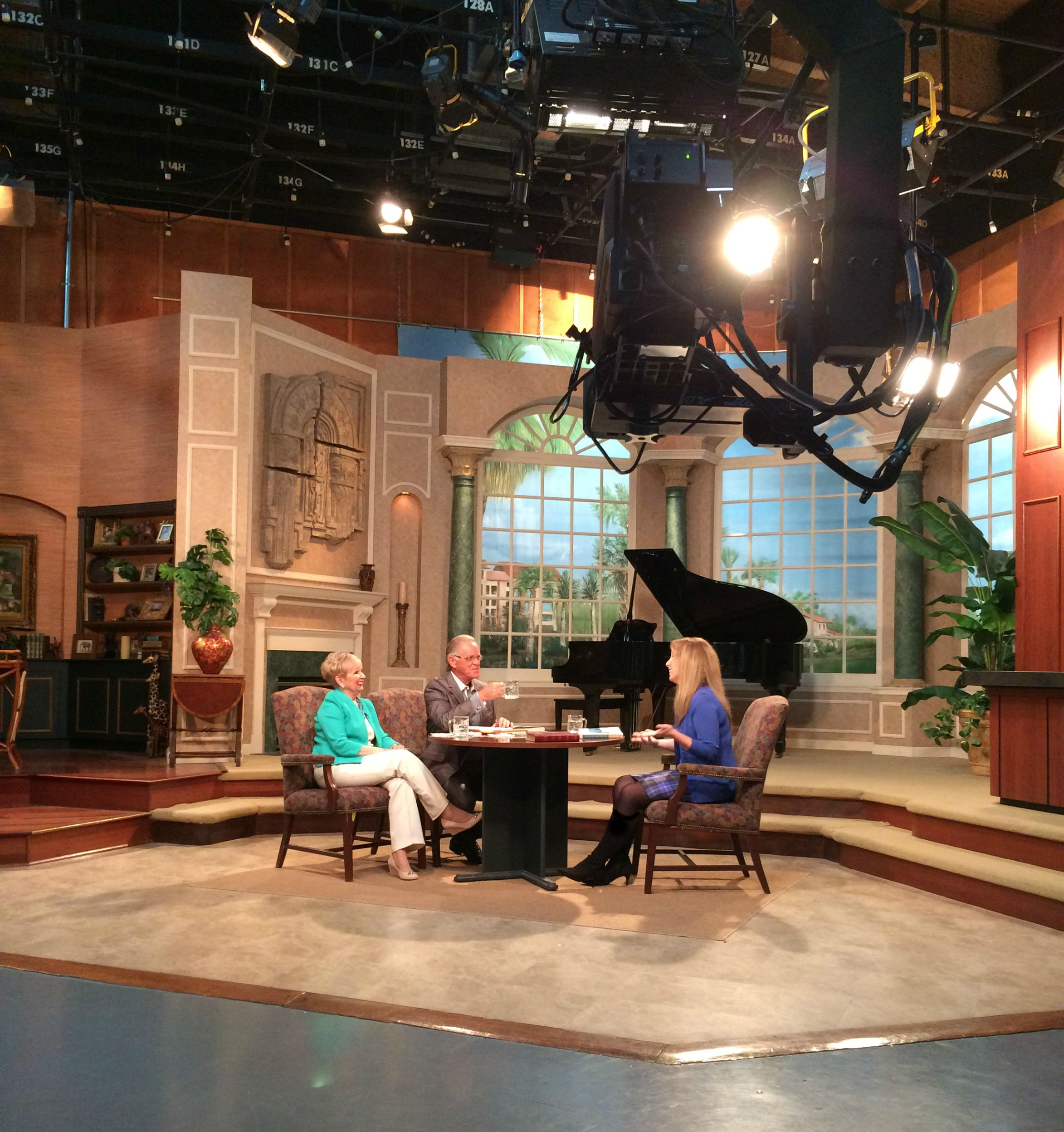 "A recent television appearance ~ Christin Ditchfield was interviewed by the Baileys on ""It's Time for Herman and Sharron"" (CTN) in August 2015."