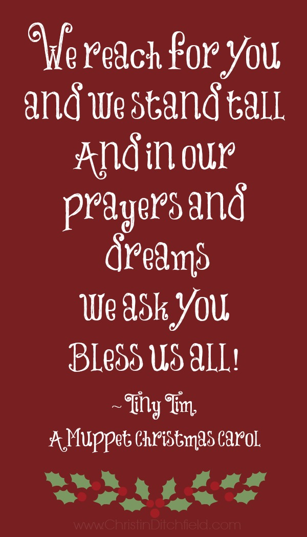 Bless us all tiny tim christin ditchfield bless us all tiny tim voltagebd Images