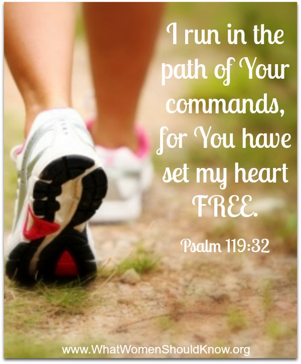 I run in the path of Your commands