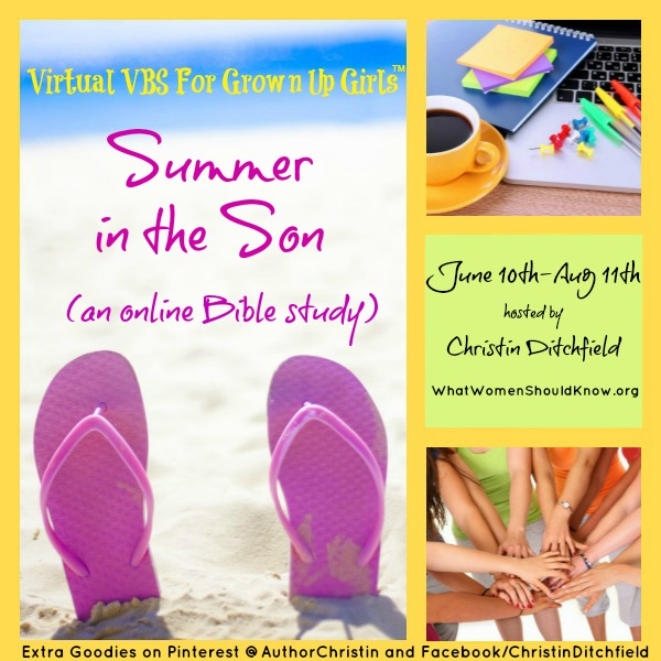 Virtual VBS for GrownUp Girls: Summer in the Son