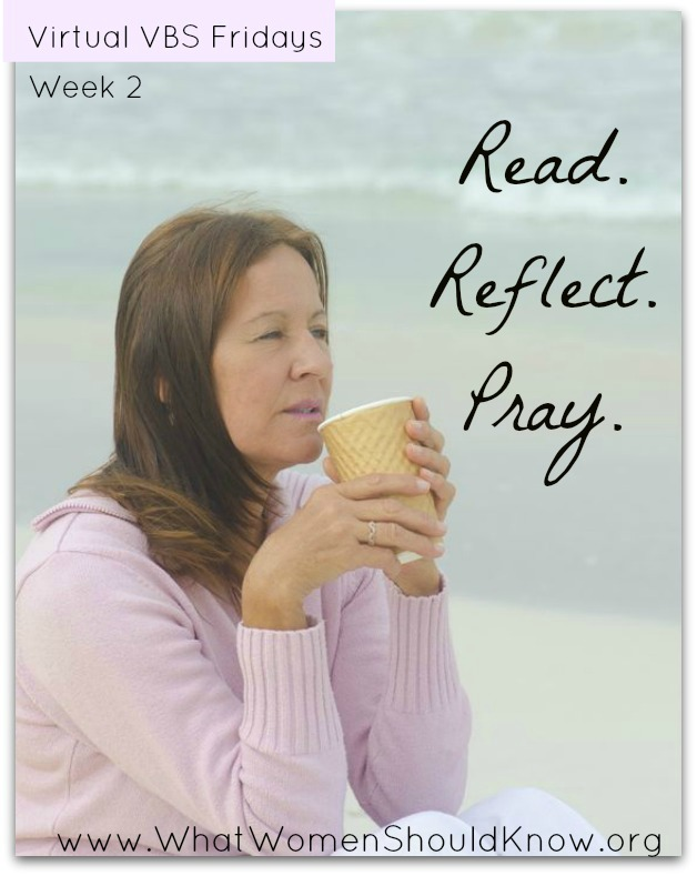 Read.Reflect.Pray. Week 2