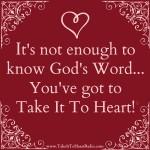 Take It To Heart!