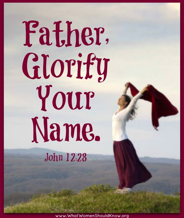 Father, Glorify Your Name: John 12:28