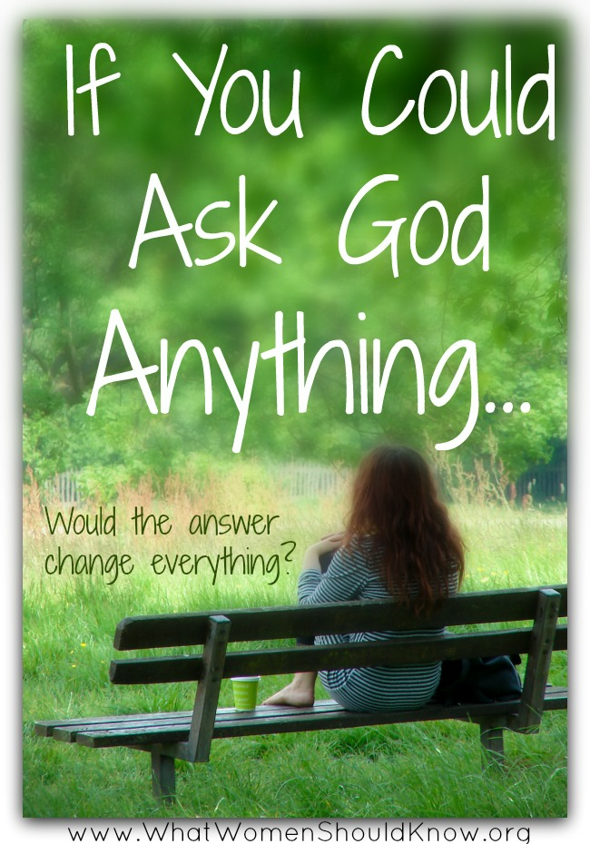 If You Could Ask God Anything