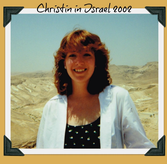 Christin in Israel