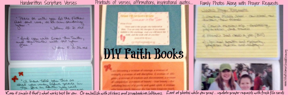 DIY Faith Book Ideas