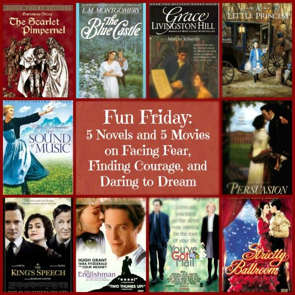 Fun Friday 5 Novels and 5 Movies