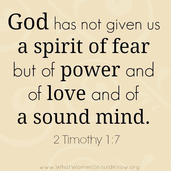 2 Timothy 1.7