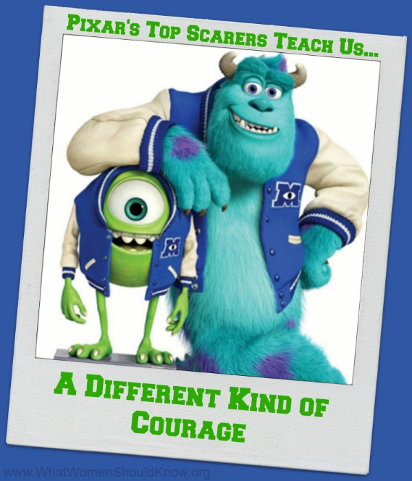 Monsters University A Different Kind of Courage