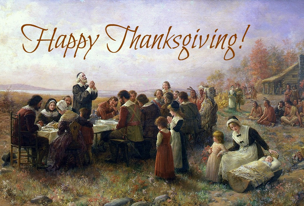 The First Thanksgiving at Plymouth ~ Jennie Brownscombe