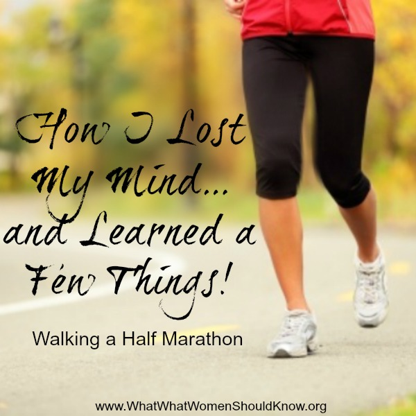 Walking A Half Marathon