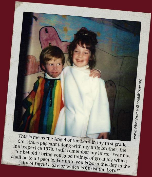 The Christmas Story and A Christmas Prayer