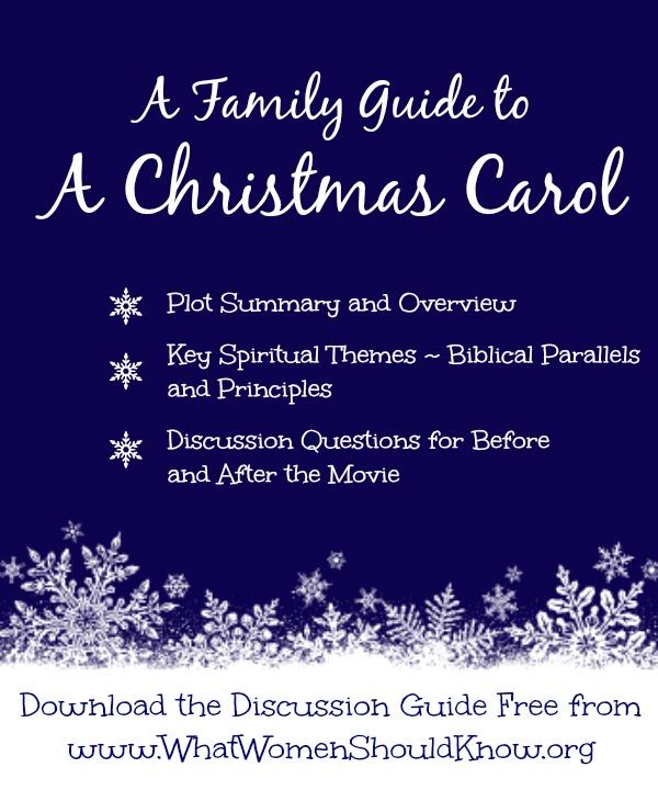A Family Guide to A Christmas Carol