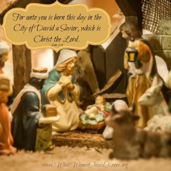 The Nativity Luke 2:11