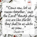 White As Snow ~ Isaiah 1:18