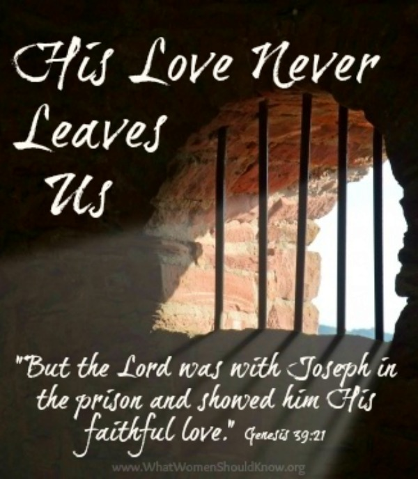 His Love Never Leaves Us
