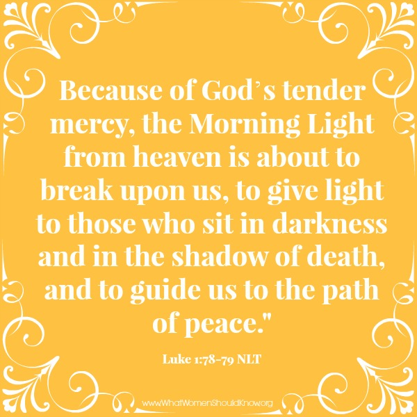 Because of God's Tender Mercy