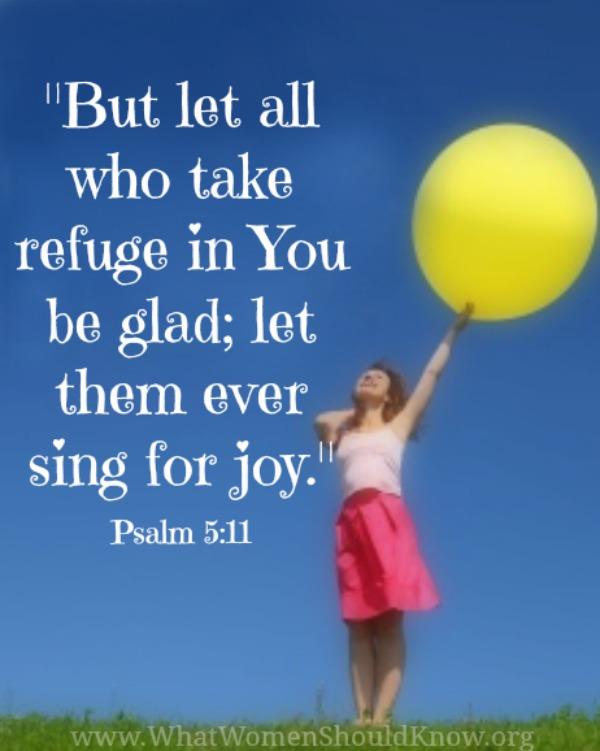 Psalm 5:11