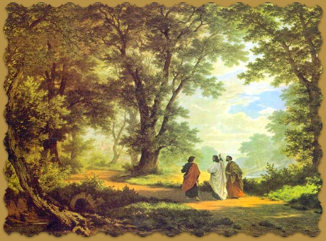 Road to Emmaus Robert Zund