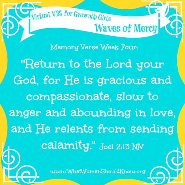 Virtual VBS 2014 Memory Verse Week 4