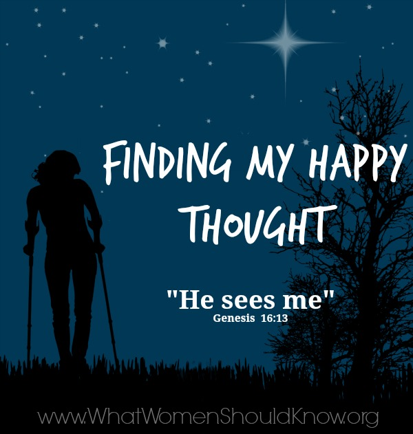 Finding My Happy Thought