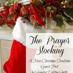 The Prayer Stocking Saundra DaltonSmith