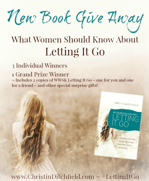 Letting It Go GiveAway