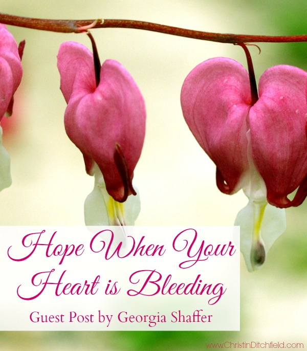 Hope When Your Heart is Bleeding
