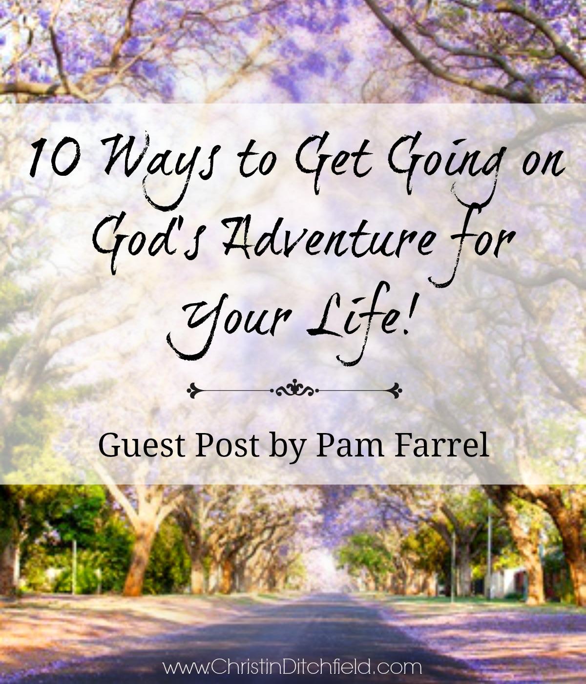 Ten Ways to Get Going