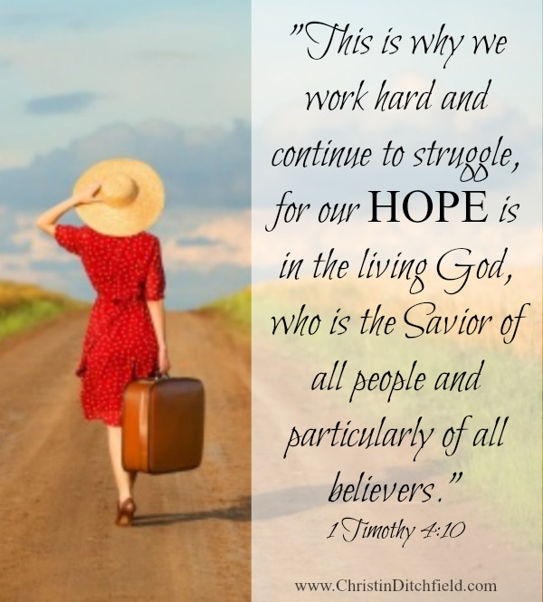 VBS Memory Verse Week 1 Our Hope