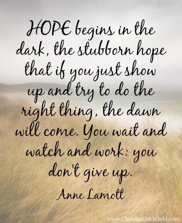 Hope Anne Lamott