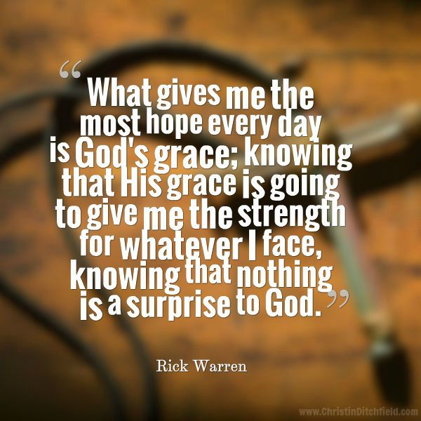 Hope Quote Rick Warren