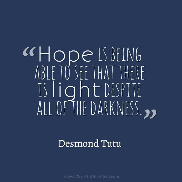 Hope Quote Desmond Tutu