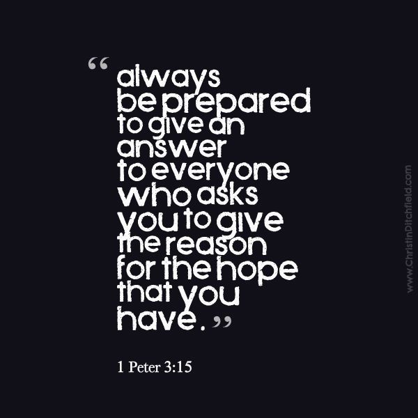 1 Peter 3:15 Hope Scripture Graphic