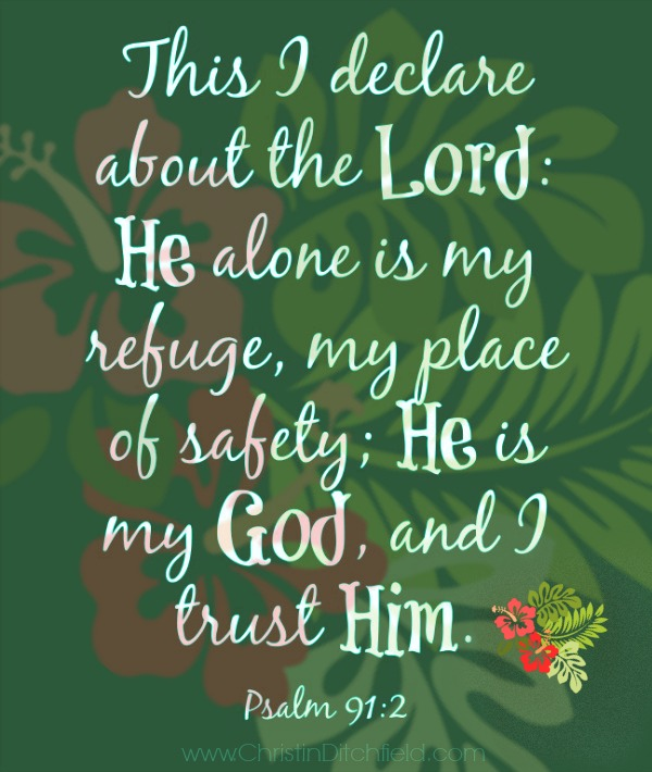 He is my refuge VBS