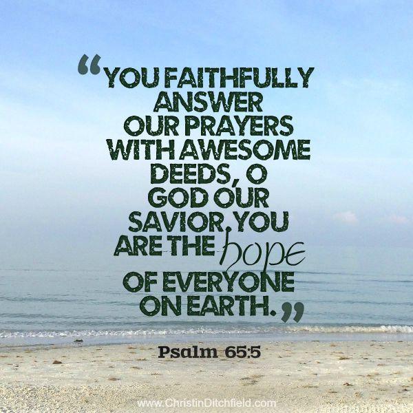 Hope Verse 1