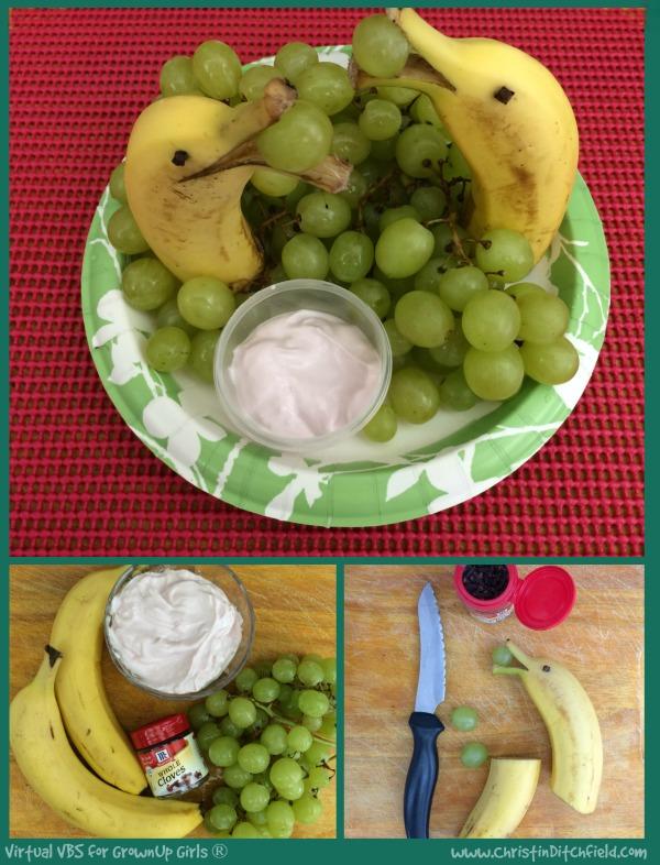 VBS Banana Dolphin Snack