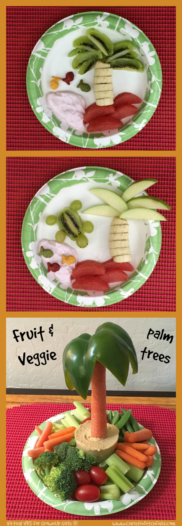 VBS Fruit and Veggie Palm Trees
