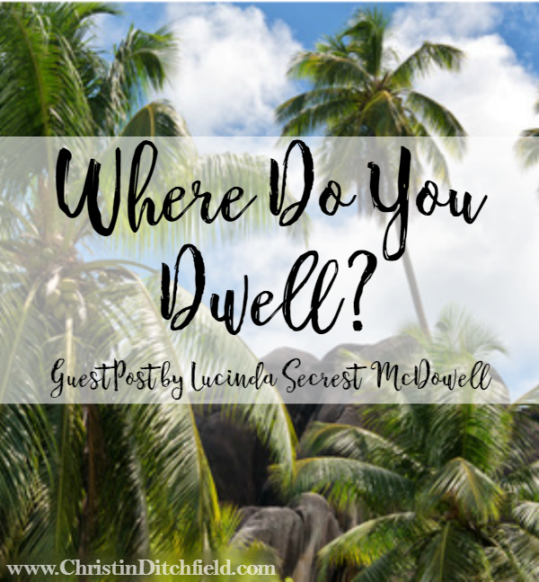 Where do you dwell? Guest post on Psalm 91 by Lucinda Secrest McDowell