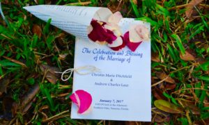 Just Married ~ Christin Ditchfield and Andrew Lazo