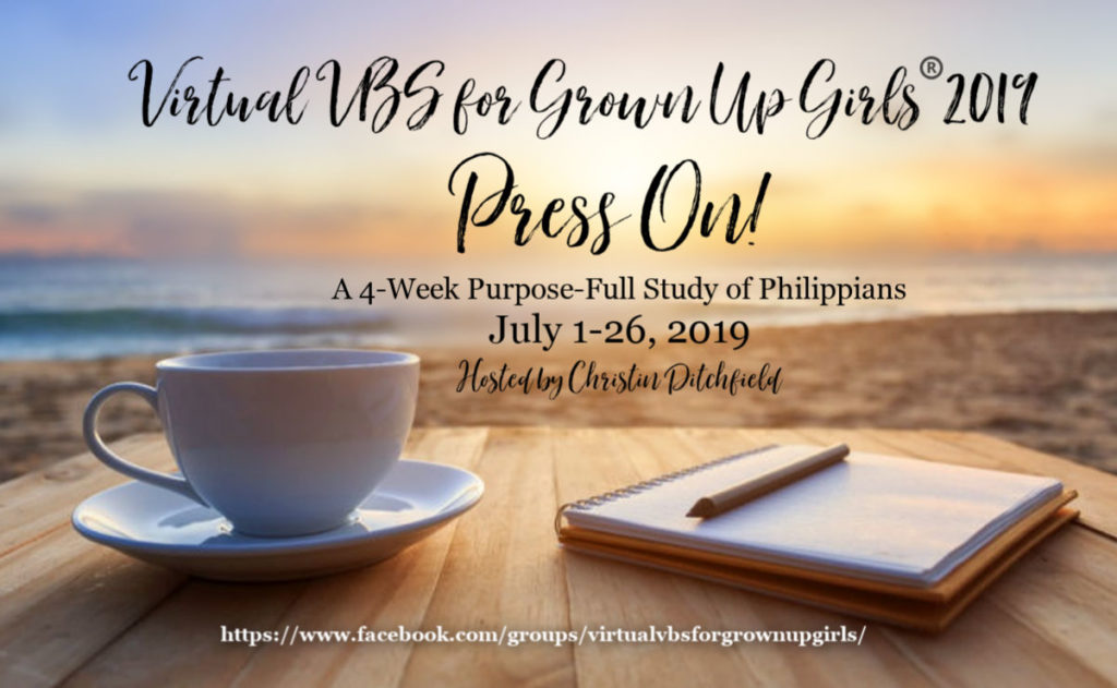 Virtual VBS for GrownUp Girls® 2019